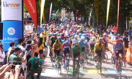 Désormais accro aux courses cyclistes, Vienne ville-départ en mars prochain du Paris-Nice