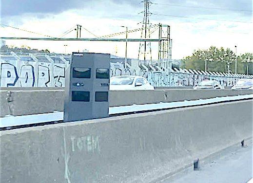 Attention aux amendes, dès lundi prochain, 18 janvier sur les voies de covoiturage de l'ex-A7 à l'entrée de Lyon
