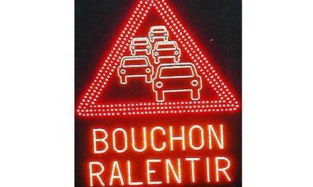 Gros bouchons à Lyon et autour de Lyon ce soir, suite à un accident sur l'A7 à hauteur de Saint-Fons
