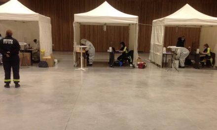 Le centre de vaccination de Vienne déménage lundi de la Vallée de Gère à la salle du Manège, Espace Saint-Germain