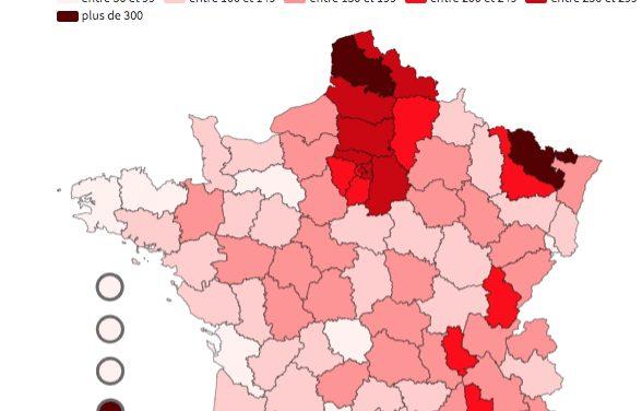 """Covid-19 : avant de nouvelles contraintes sanitaires ? Le Rhône en """"surveillance renforcée"""", pas l'Isère"""