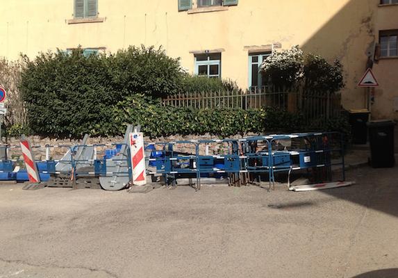 15ème site à Vienne: démarrage des travaux d'implantation de conteneurs enterrés rue Pipet