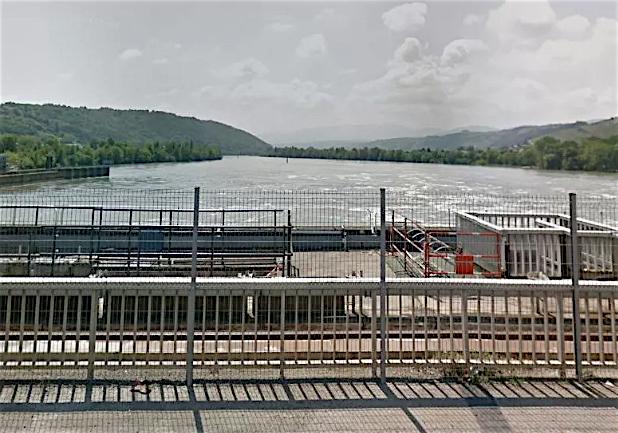 Un corps sans vie découvert au barrage de Reventin-Vaugris