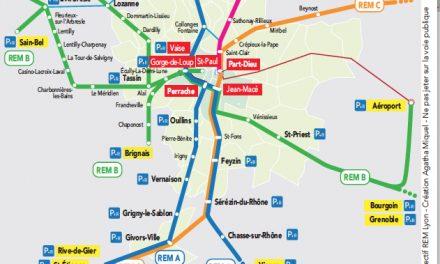 Vienne directement concernée : SNCF, un collectif créé pour pousser à la création d'un RER à la lyonnaise
