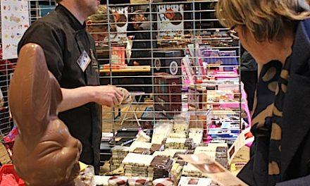 Addicts, réjouissez-vous: il y aura bien un «Choco Show» ce week-end à la salle-des-fêtes de Vienne…