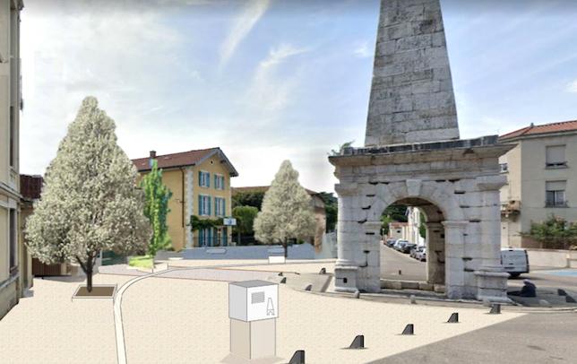 Les travaux démarrent ce matin: voilà la future physionomie du boulevard Fernand Point à Vienne