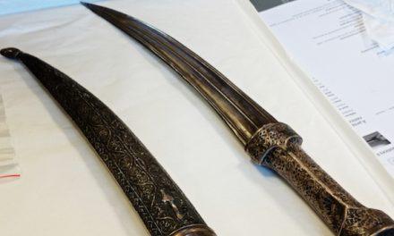 Restauré à Vienne, le poignard de Champollion sera l'une des pièces maîtresses du futur musée qui lui sera consacré à Vif, en mai