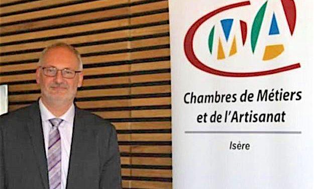 Philippe Tiersen, président de la Chambre de métiers et de l'artisanat de l'Isère est décédé du Covid-19