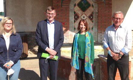 Elections départementales : Patrick Curtaud se représente sur Vienne-2, en compagnie d'Isabelle Dugua, maire des Roches-de-Condrieu