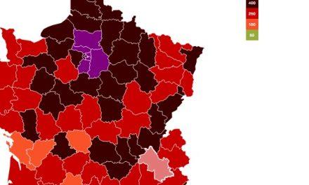 Covid-19-L'Isère voit son taux d'incidence encore baisser pour descendre au seuil d'alerte : 250