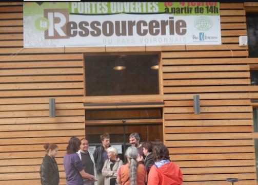 """Le projet d""""une """"ressourcerie """" sur Vienne Condrieu Agglomération avance à grands pas : à Chasse-sur-Rhône ?"""