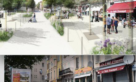 La place de l'Affûterie en Vallée de Gère : de gros travaux lancés pour en faire un vrai cœur de quartier