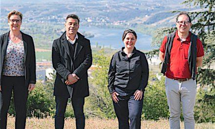 """Paul Raguénès et  Myriam  Thieulent candidats de la gauche unie, """"Le printemps Isérois"""" sur le canton de Vienne 2"""