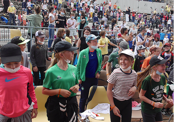 Ouverture avec le jeune public au théâtre antique : le Festival Jazz à Vienne démarre en trombe et en mode Carnaval