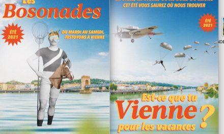Une campagne de com' vintage et décalée pour l'Office du Tourisme de Vienne qui multiplie les animations cet été