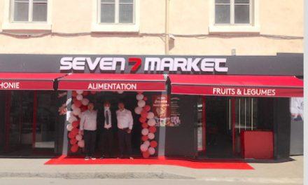 Renouveau de la Vallée de Gère : l'épicerie Seven7 Market fait peau neuve et se dote d'un drive