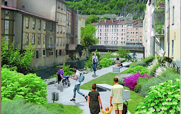 Coulage de béton : l'accès aux quais interdit en Vallée de Gère à Vienne du 14 au 18 juin