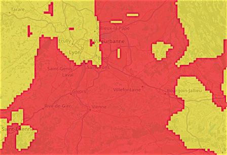 Retour de la circulation différenciée (Crit'air) : niveau 1 d'alerte de pollution à l'ozone à Lyon et en  Nord-Isère