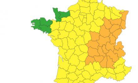 """L'Isère et le Rhône placés en """"vigilance orange"""" aux orages"""