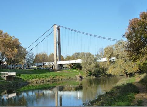 Il pourrait être brutalement fermé… s'il fait trop chaud ! Le pont de Vernaison demain en sens unique