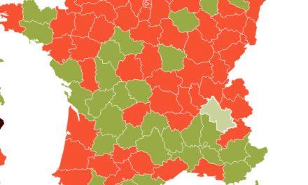Isère, Covid-19 : le taux d'incidence  dans le vert, désormais ; le nombre de décès en très forte diminution