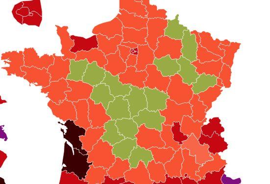 Variant Delta du Covid 19 en Isère-le taux d'incidence explose, pas les hospitalisations, ni les réanimations