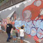 Dans l'ancienne usine Gobba à Vienne, le 1er Festival de street-art, bel et bien lancé