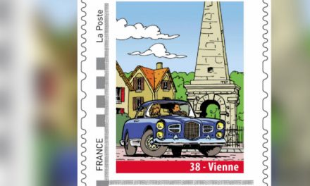 Pyramide et Facel Vega : édité à 30 000 exemplaires, lancement du 4ème timbre sur Vienne