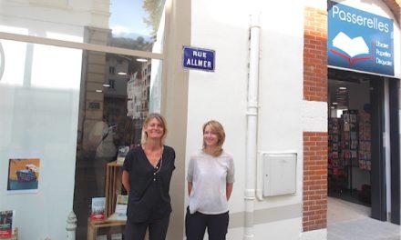 Un nouvel élan pour la librairie Passerelles qui vient de déménager pour s'installer dans le centre de Vienne