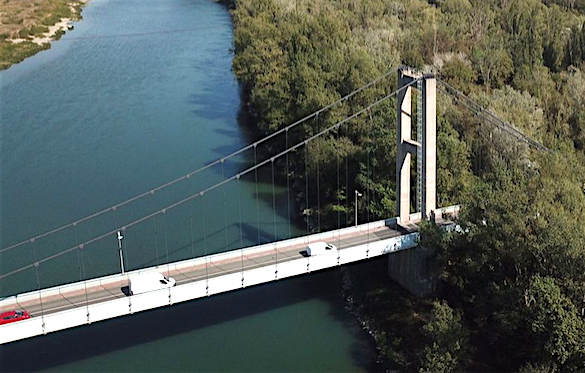 Pont de Vernaison : bientôt, début octobre, une réouverture dans les deux sens de circulation ?
