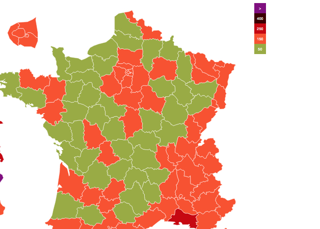 Covid-19 : le taux d'incidence se rapproche des 50, vers un allégement en Isère ?