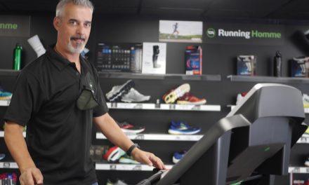 """Ouverture d'un magasin spécialisé destiné aux """"runners"""" à Saint-Romain-en-Gal : """"Terre de running"""""""