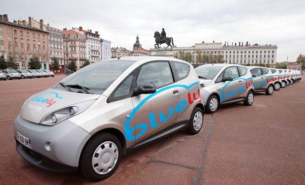 """Une société lyonnaise propose des véhicules électriques """"Bluely"""" , à partir de…1 euro !"""