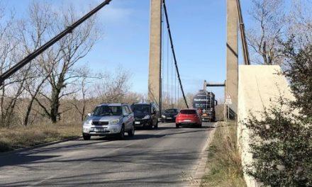 A l'exception des poids-lourds, la circulation à double sens sur le pont de Vernaison rétablie demain