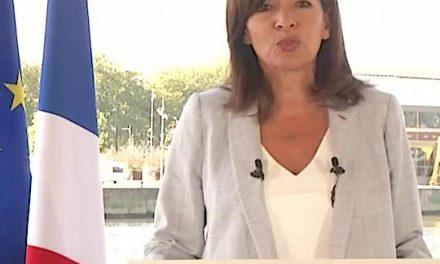 Candidate à la présidence de la République, Anne Hidalgo présente vendredi matin à Chasse-sur-Rhône