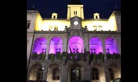 Dépistage du cancer du sein : à partir de ce soir, pour un mois, l'hôtel-de-ville de Vienne illuminé en rose