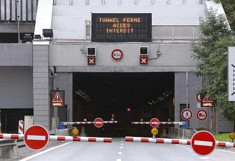 A partir de ce soir, le tunnel de Fourvière fermé pendant quatre nuits